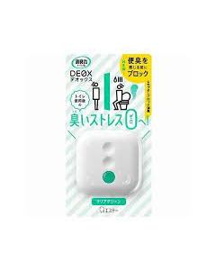 S.T. Corporation DEOX Deodorizer for Toilet 6ml Clear Green flavour