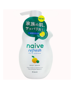 Kracie Naive Body Wash 530ml (Lemon)