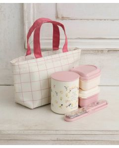 Afternoon Tea Floral Thermos Lunch Set