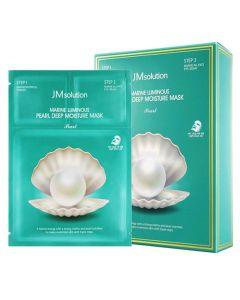 JM Solution Marine Luminous Pearl Deep Moisture Mask (10pcs)