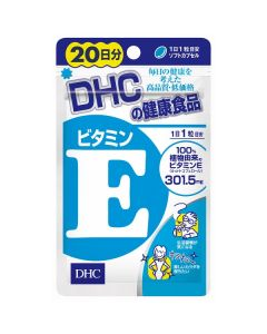 DHC Natural Vitamin E (Soy) (20 Days)
