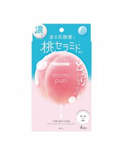 BCL Momo Puri Milk Jelly Mask (4pc)- Limited Edition