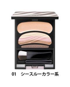 SOFINA AUBE Gradation Eyes Color Eyeshadow Palette #SC01 See-through Pink