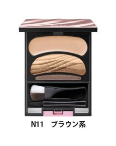 SOFINA AUBE Gradation Eyes Color Eyeshadow Palette #11 Sofe Brown