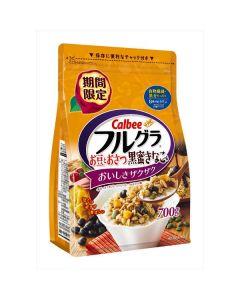 Calbee Fruit Granola 700g (Black Beens With Brown Sugar)