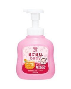 SARAYA arau baby Foam Body Soap Moisturizing Type 450ml