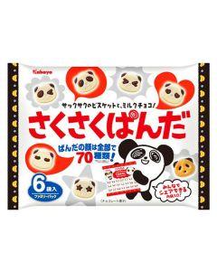Kabaya Sakusaku Panda Family Pack 102g
