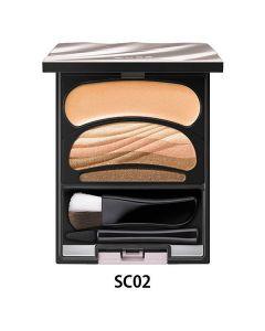 SOFINA AUBE Gradation Eyes Color Eyeshadow Palette #SC02 See-through Beige