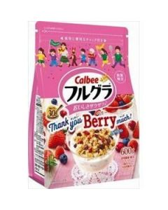 [2021 Limited Edition] Calbee Fruit Granola 600g (BerryFlavor)