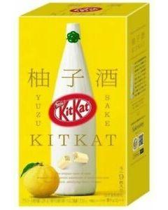 Nestlé KitKat Yuzu Sake Chocolate Bars (Limited Edition)