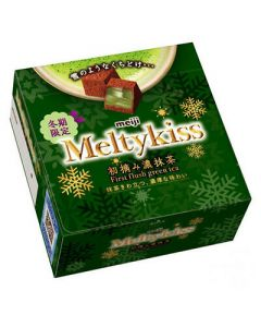 MEIJI Melty kiss Green Tea Dark Chocolate 56g