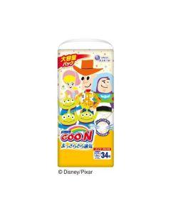 「Limited Pixar Edition」elleair GOO.N Diaper Pants XXL 34pc (Japan Domestic Version)
