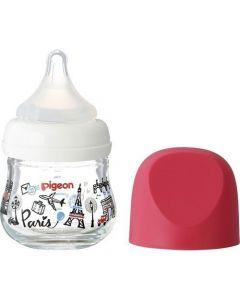 Pigeon Heat Resistant Nursing Glass Bottle 80ml (Limited Edition - Paris)