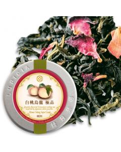 LUPICIA Momo Oolong Super Grade Loose Leaf Tea In Tin 30g