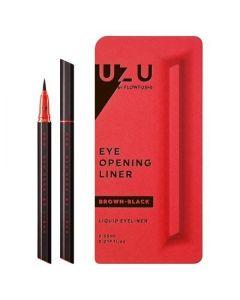 Flowfushi UZU Eye Opening Liner Liquid Eyeliner (Brown Black)