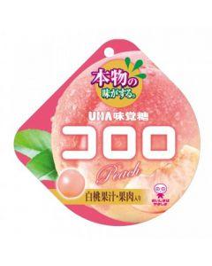 UHA CORORO Gummi Candy - Peach