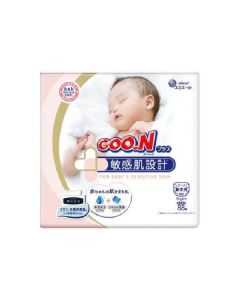 elleair GOO.N Plus Diaper Tape for Sensitive Skin NB 88pc (Japan Domestic Version) (Ship to US and Canada Only)