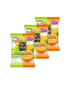 ORIHIRO Konjac Jelly (Muscat & Orange) (Pack of 3)