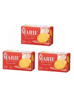 MORINAGA MARIE Sweet Biscuit 21pcs (Pack of 3) (Best by 2021.06)