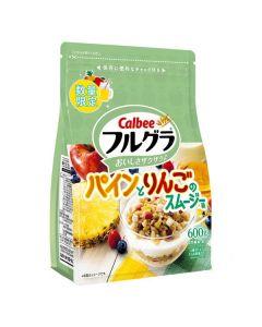 Calbee Fruit Granola 600g (Pineapple & Apple) - Limited Edition
