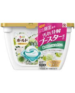 P&G Japan Bold Gel Ball Green Garden Muguet Aroma (16 Pcs)