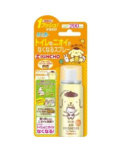 KINCHO Clean Flow Toilet Odor-free Spray Pompom Pudding 200 times