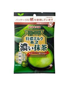 UHA Mikakuto Tokunou Milk 8.2 (Matcha) Candy 75g