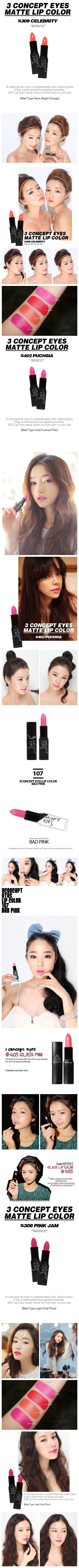 3 Concept Eyes Lip Color