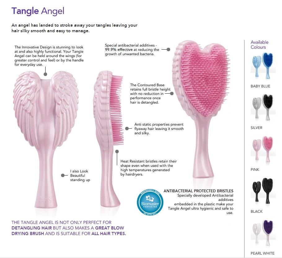 Tangle Angel Cepillo Daiquiri Girl